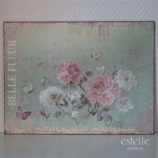 Skylt - Belle Fleur