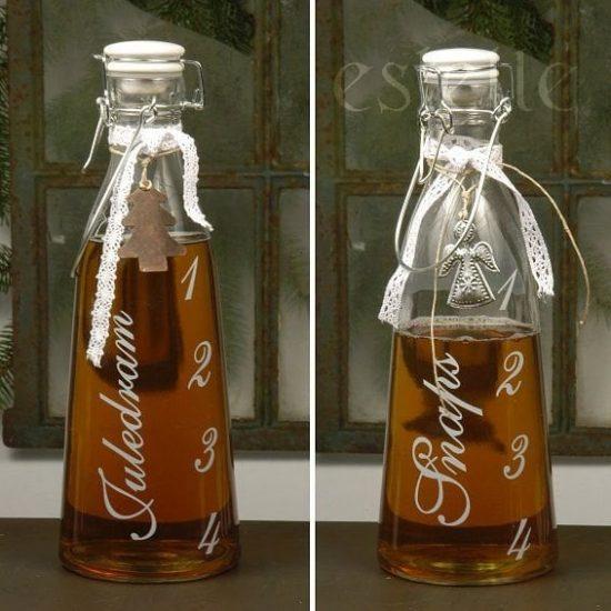 Advent-flaska