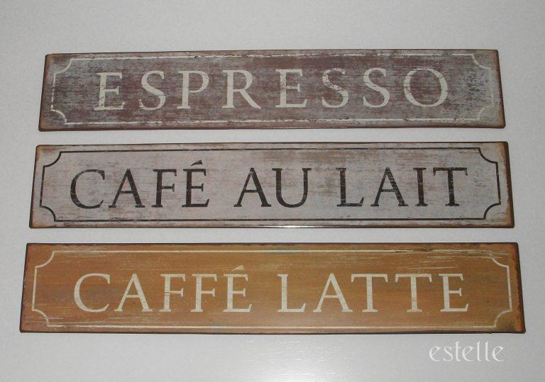 Coffee-skylt