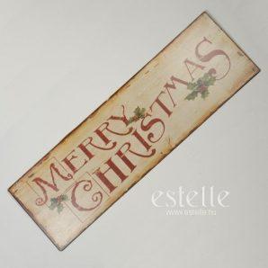 Skylt 'Merry Christmas'