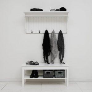 Lantlig bänk – 100 cm