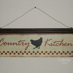 Skylt - Country Kitchen