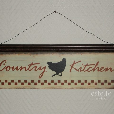 Skylt - Country Kitchen