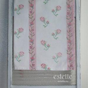 Handduk med blommor
