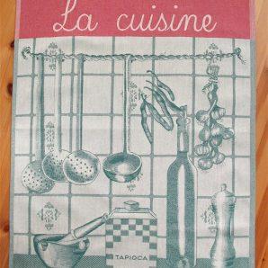 Kökshandduk 'La cuisine' – Grön